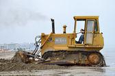 Bulldozer  at work — Stock Photo