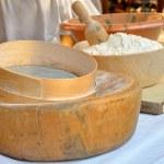 Sieve for flour — Stock Photo #51541025