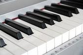 Digital piano keys — Stock Photo