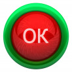 Ok icon — Stock Photo #51183163