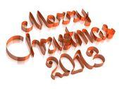 Frohe weihnachten 2013 — Stockfoto