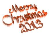 Merry Christmas 2013 — Stock Photo