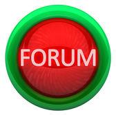 Forum icon — Stock Photo