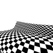 Damier texture fond 3d. — Photo