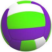 3d Volleyball ball — Stockfoto