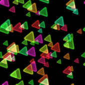 Abstract background with triangles — Stock Photo