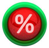 Icon percent — Stock Photo