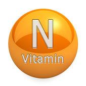 Vitamin N — Stock Photo