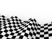 Racing vlaggen. achtergrond geruite vlag formule 1 — Stockfoto