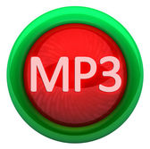 MP3 icon. Format SOUND — Stock Photo