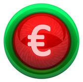 Icon euro — Stock Photo