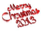 Veselé vánoce 2013 — Stock fotografie