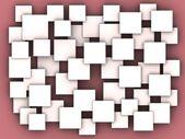 Background of blank squares — Fotografia Stock