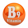 Vitamin B9 Isolated — Stock Photo #51226541