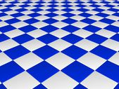 Checkerboard plane background — Stock Photo