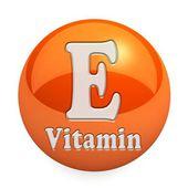 Vitamin E isolerad — Stockfoto