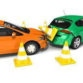 車の事故 — ストック写真