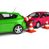 Автокатастрофа — Стоковое фото