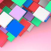 Square blank — Stockfoto