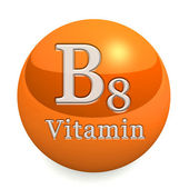 Vitamin B8 Isolated — Fotografia Stock