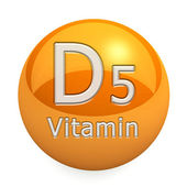 Vitamin D5 Isolated — Stock Photo