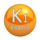 Vitamin K1 Isolated — Stock Photo