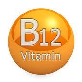 Vitamin B12 Isolated — Zdjęcie stockowe