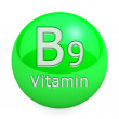Vitamin B9 Isolated — Stock Photo #51232039