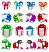 Gift box, with ribbon like a present. — Φωτογραφία Αρχείου