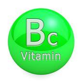 Vitamin Bc Isolated — Stock Photo