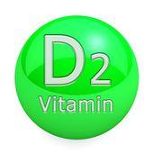 Vitamin D2 Isolated — Photo