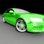 Car on dark background — Stok fotoğraf #51247165