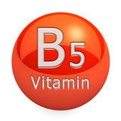 Vitamin B5 Isolated — Stock Photo