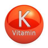 Vitamin K Isolated — Stock Photo