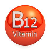 Vitamin B12 Isolated — Stock Photo