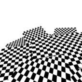 Checkered texture — Stock Photo
