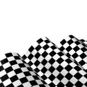 Checkered race flag — Stock Photo