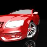 Car color on a dark background — Stok fotoğraf #51284389