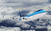 Real jet aircraft — Stock Photo