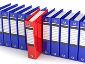 Office folders for papers. — Stock Photo