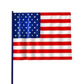 American Flag for Independence Day. — Stock Photo