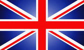 Great  Britain flag. — Stock Photo