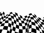 Bandeiras de corrida. fundo checkered a bandeira de fórmula um — Fotografia Stock