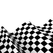 Banderas de carreras. Fondo cuadros Bandera fórmula uno — Foto de Stock