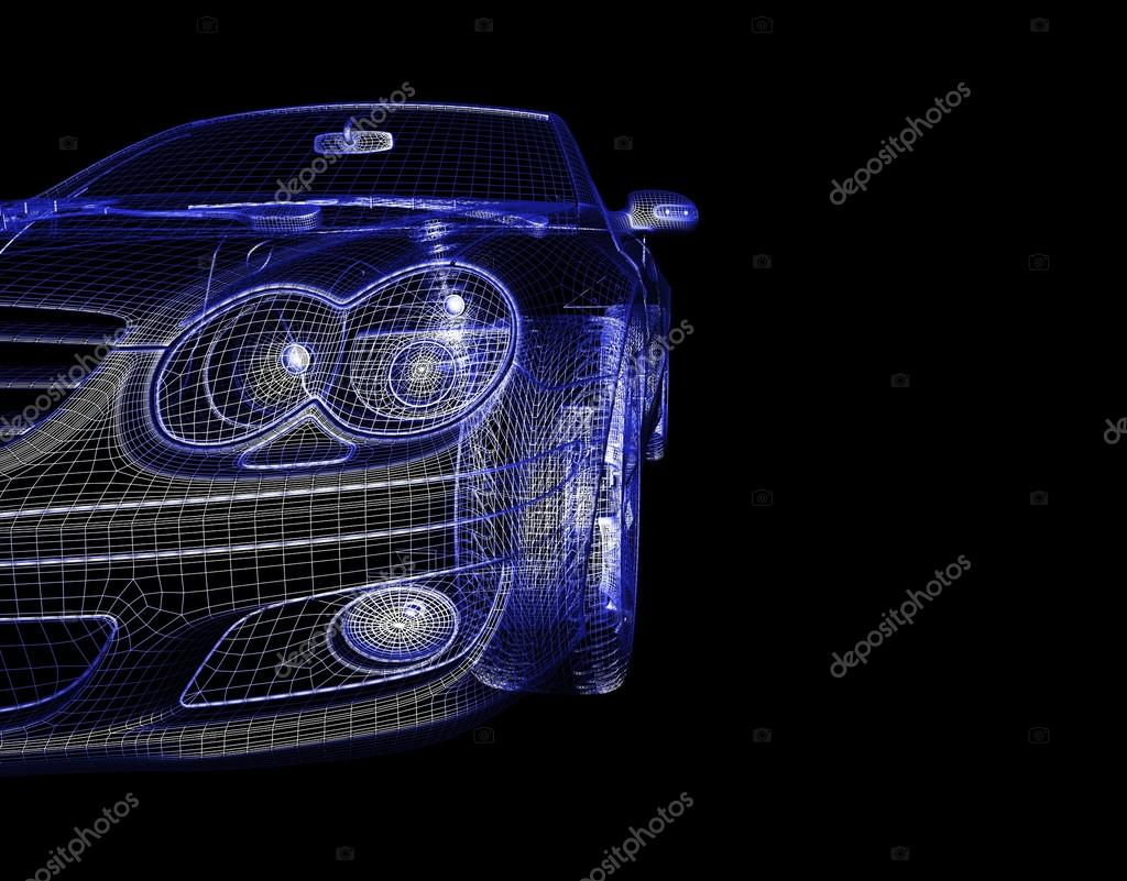 Baixar de modelo de carro 3d