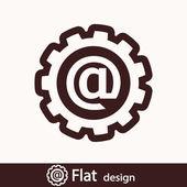 E-mail internet icon — ストック写真