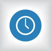 时钟图标 — 图库照片
