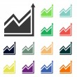 Infographic, chart icons — Stock Photo #51531311