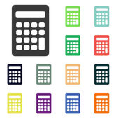 Calculator icons — Stockfoto