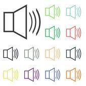 Speaker icons — Foto Stock
